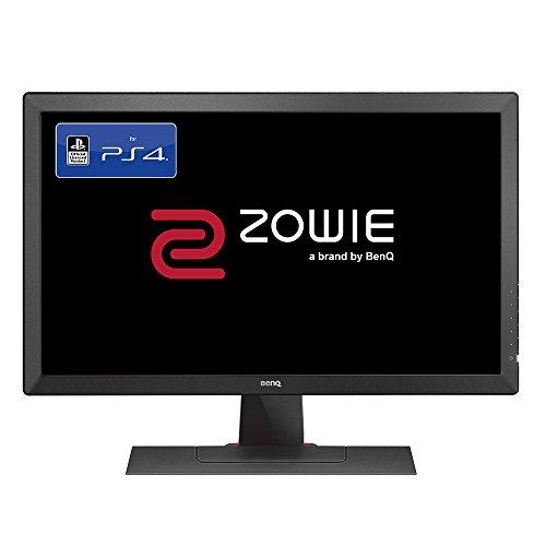 BenQ ZOWIE RL2455S 60,96 cm (24 Zoll) Konsolen e-Sports Monitor (offiziell lizensiert für PS4/PS4 Pro, Lag-free, Black eQualizer, Color Vibrance, 1ms Reaktionszeit) gr