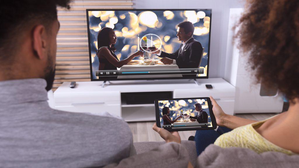 Monitor und Fernseher Sitzabstand berechnen