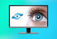 Augenschonender Monitor - Bildschirm
