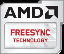 Was ist FreeSync? - AMD FreeSync Logo