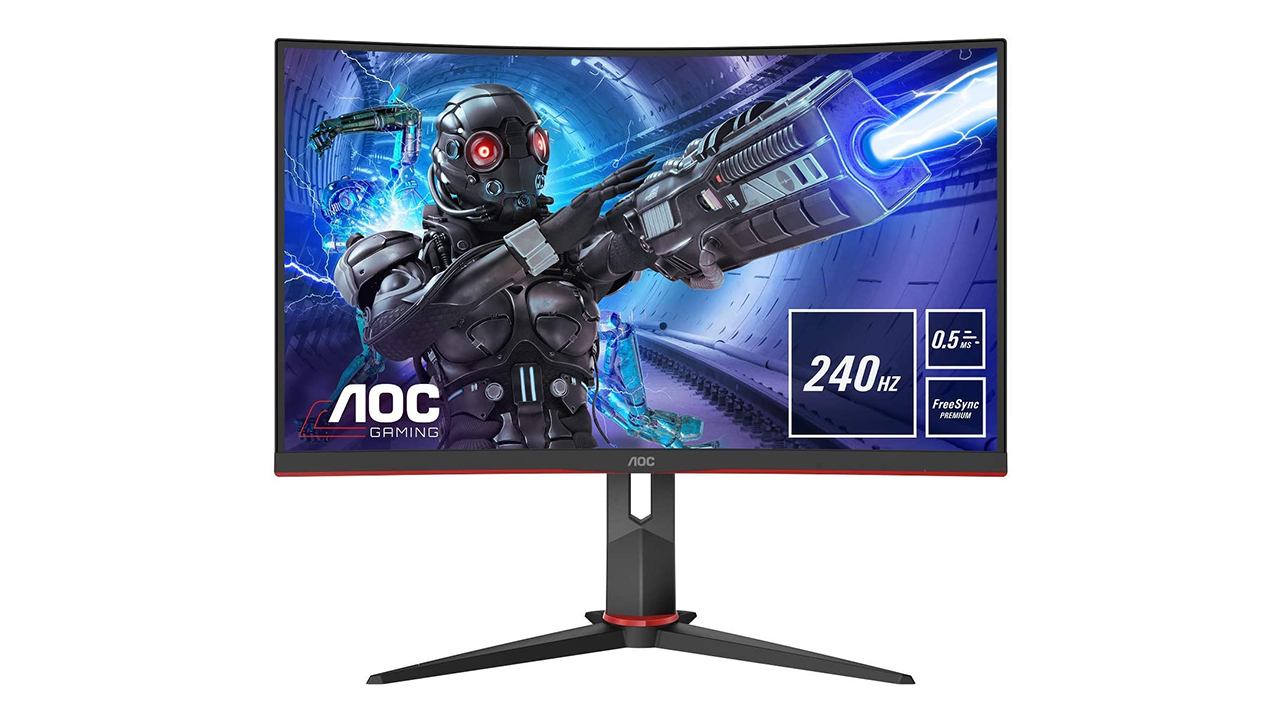 AOC Gaming 27G2ZU - 240hz Curved Monitor