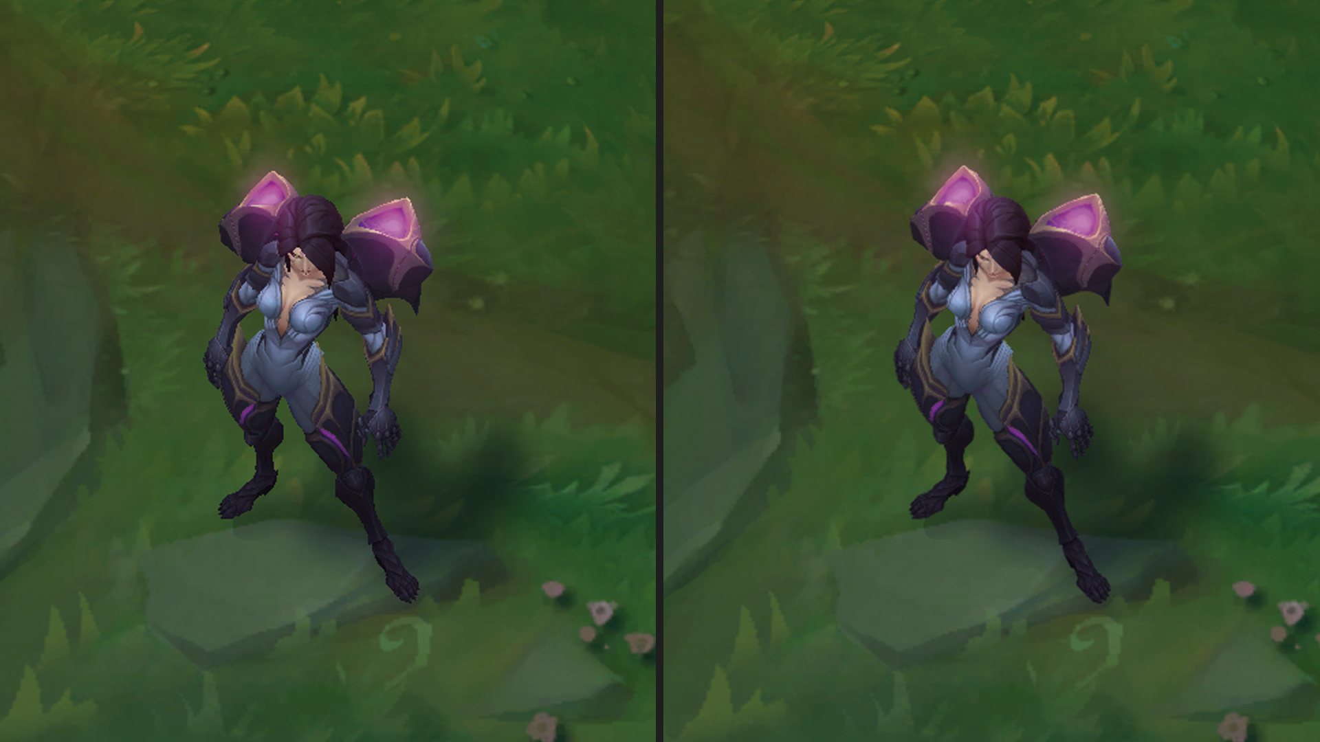 Anti-Aliasing In-Game Vergleich League of Legends