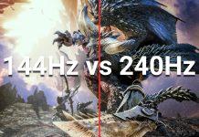144 hz vs 240 hz