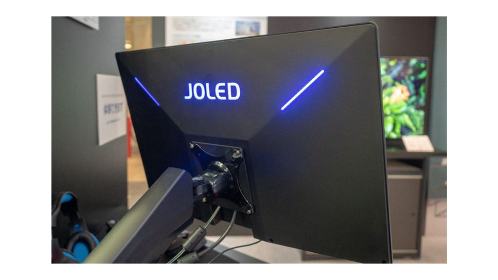JOLED Burning Core OLED E-Sports Monitor