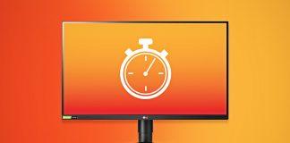 Reaktionszeit bei Monitoren